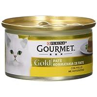 Gourmet Gold Paté per il Gatto, con Pollo, 85 g - Confezione da 24 Pezzi