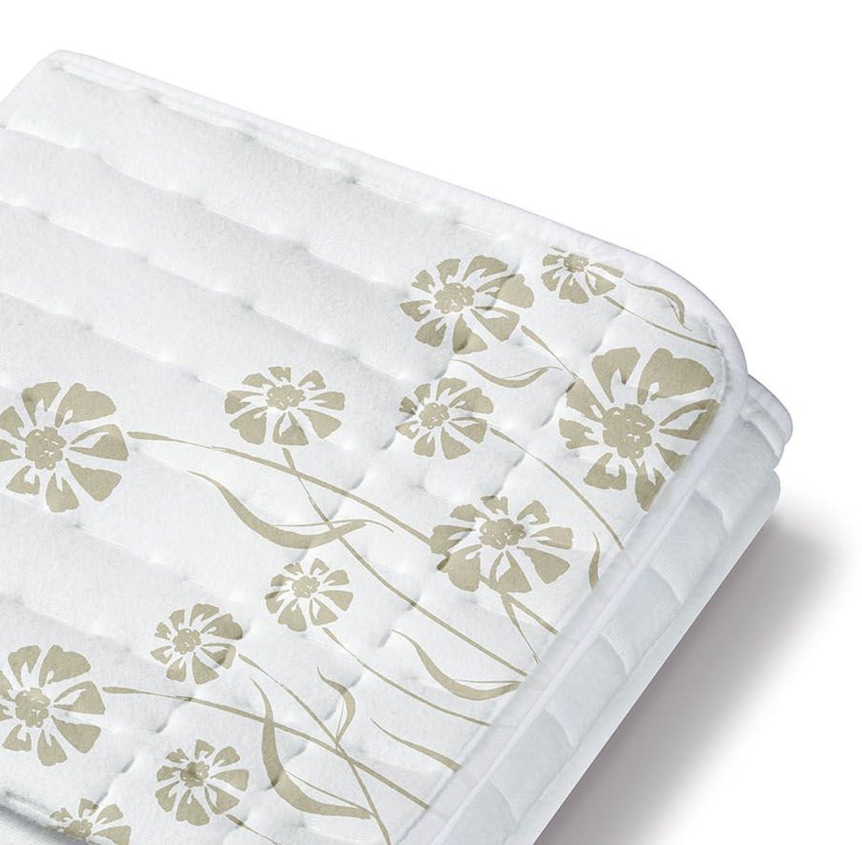 Beurer TS 23 - Calientacamas individual, 75 x 130 cm, lavable, color blanco: Amazon.es: Salud y cuidado personal