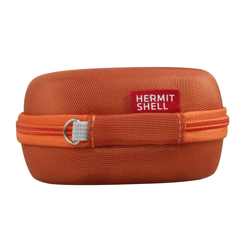 Hard EVA Travel Bright Orange Case for Bose SoundLink Micro Bluetooth Speaker by Hermitshell by Hermitshell (Image #4)