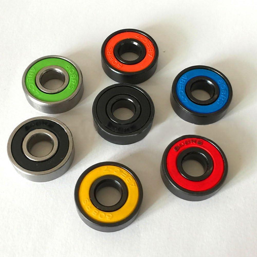 SKY 3PCS 608 híbridos rodamientos de bolas para Tri-Spinner Hand ...