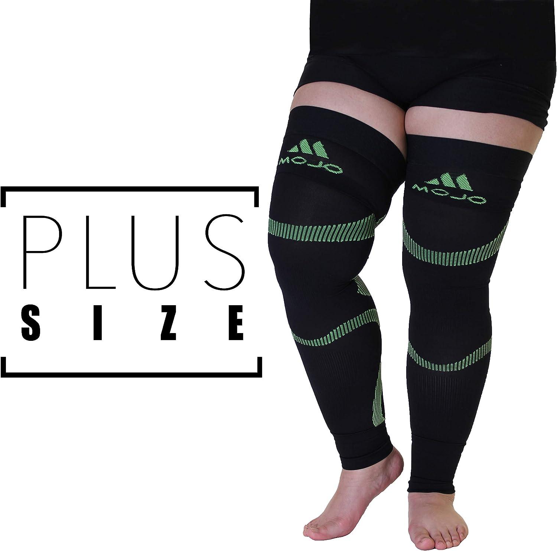 2XL Mojo Compression Stockings Medical Thigh Leg Sleeve Firm 20-30mmHg Green