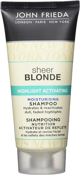 John Frieda Sheer Blonde Resalte Activar viaje champú, 50 ml, pack de 6: Amazon.es: Salud y cuidado personal