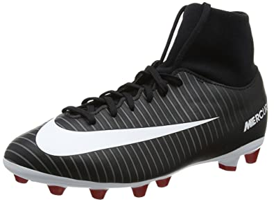Nike Unisex Kids  Jr Mercurial Victory 6 DF AG-Pro Football Boots, Black 2729a18b7b61