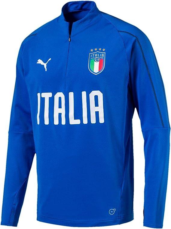 Puma FIGC Italia 1/4 Zip Training Top Chaqueta de chándal, Hombre ...