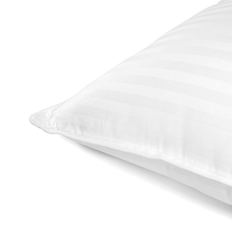 Beckham Hotel Collection Gel Pillow (2-Pack) - Luxury Plush Gel Pillow - Dust Mite Resistant & Hypoallergenic - Queen by Beckham Luxury Linens (Image #3)