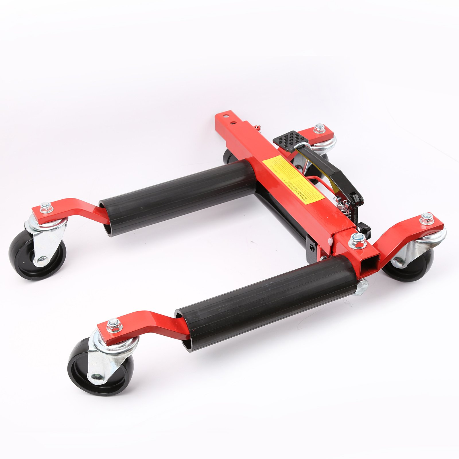 1500lb Hydraulic Vehicle Positioning Jack Wheel Dolly Lift Mover Vehicle Car SUV