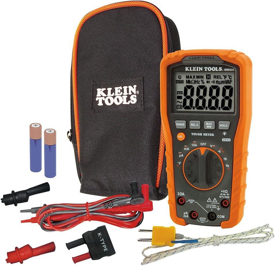 Klein Tools 1000V Auto-Ranging Digital Multimeter