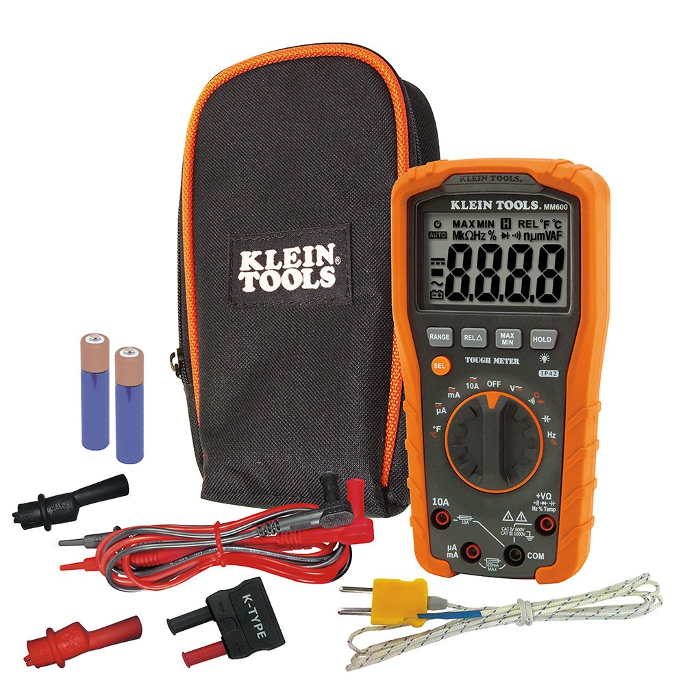 Klein Tools 1000V Auto-Ranging Digital Multimeter}
