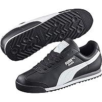Puma Kadın Roma Basic Spor Ayakkabı, Black/White/Silver (Çok Renkli)