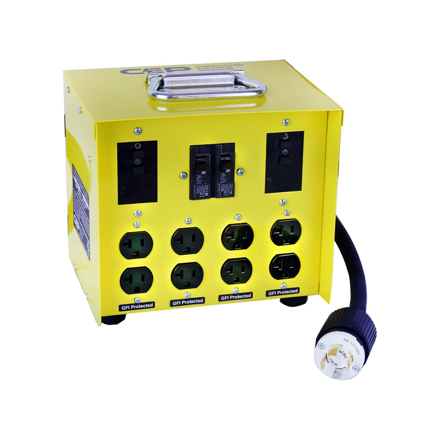 CEP Construction Electrical Products 6503GU 30-Amp Mini Portable Power Center