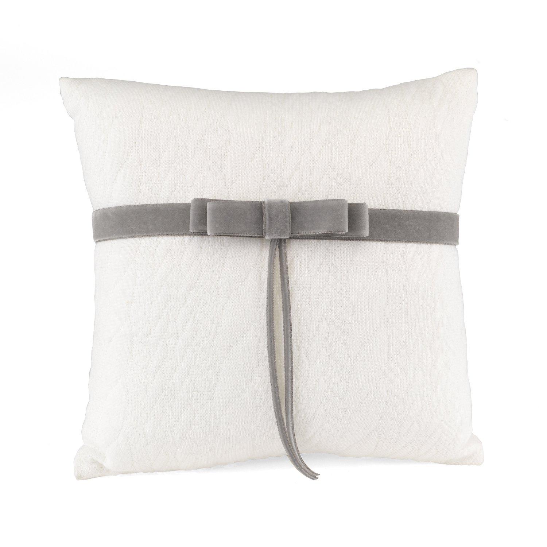 Hortense B. Hewitt Simply Knitted Ring Pillow by Hortense B. Hewitt