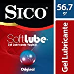 Sico Soft Lube Original, Gel Lubricante Íntimo a Base de Agua, 56.7g