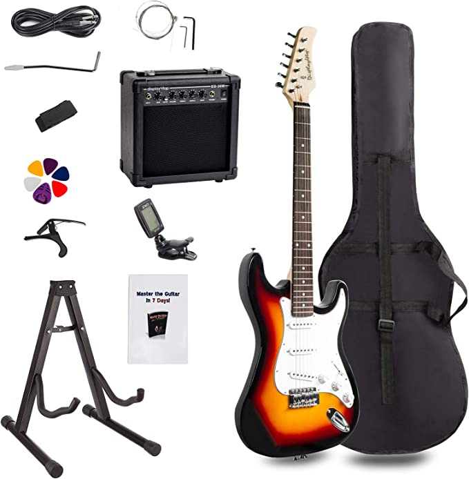 Display4top Kit de guitarra eléctrica Amplificador de 20 vatios ...