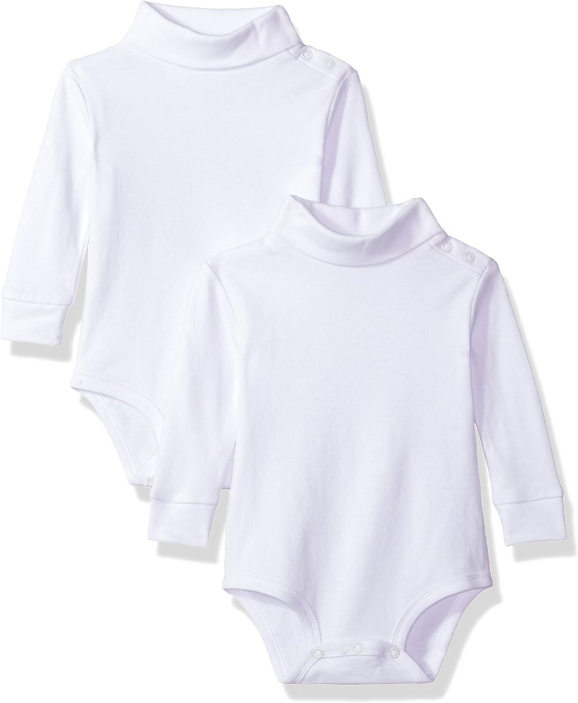 2 Pack Turtleneck Long Sleeve Bodysuit