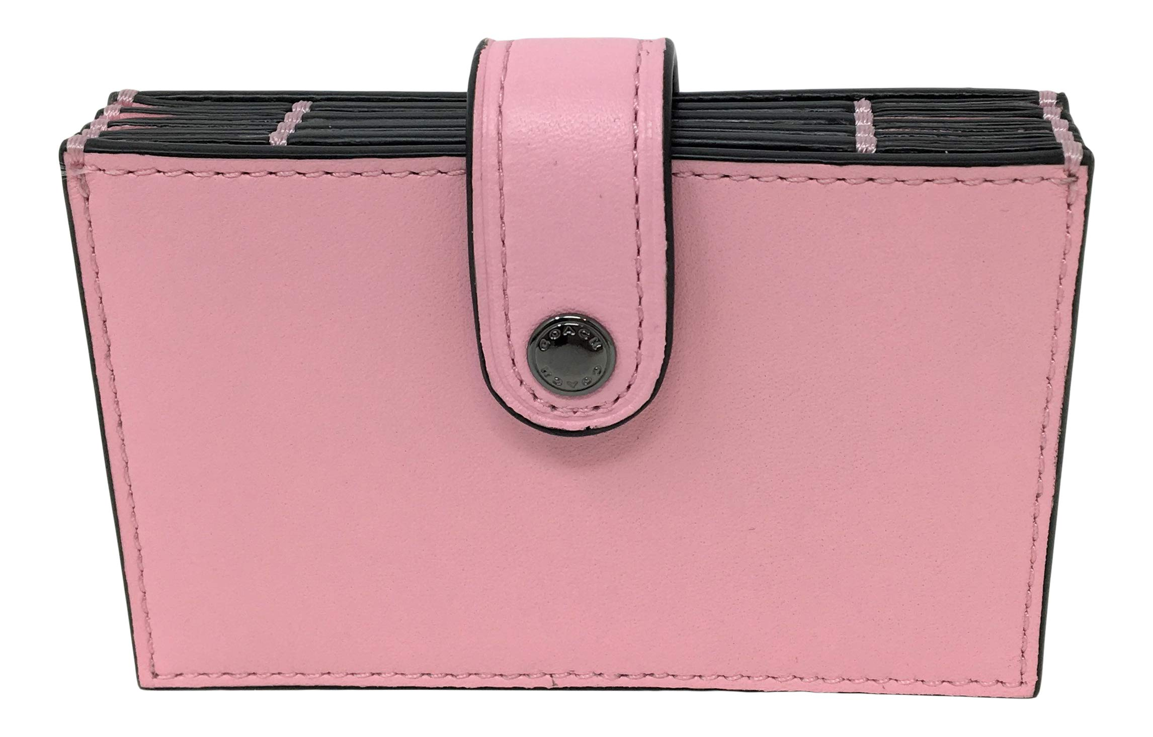Coach Accordion Card Case Pink F68393 by Coach