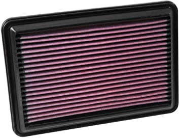 K&N Engine Air Filter: High Performance, Premium, Washable, Replacement Filter: 2014-2019 Nissan/Renault L4 (Rogue, Qashqai, X-Trail, Kadjar, Koleos, QM6), 33-5016