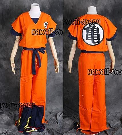 S-01-S talla S Dragon Ball Z Son Goku esté muy oscuro Chándal ...