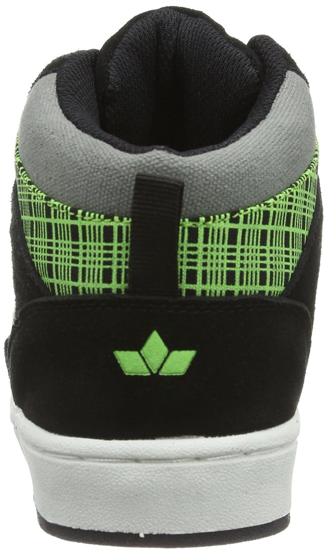 Lico Cliff High 530293 - Zapatillas de skate de cuero para unisex-adulto, color negro, talla 33