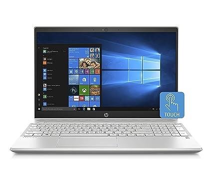 "HP Pavilion 2019 Flagship 15.6"" HD Touchscreen Business Laptop, Intel Quad-Core i5"