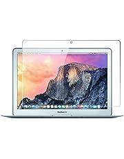 Protection d'écran pour MacBook Pro Retina 33cm, protecteur d'écran en verre trempé offrant une couverture complète pour Apple MacBook Pro Retina avec revêtement anti-traces de doigts (A1425/A1502)