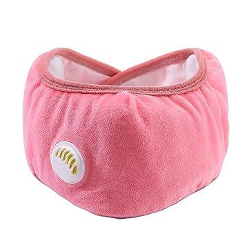 Mascara Facial PM2.5 con Válvula de Filtro Protección para Oídos Máscara de Boca Caliente