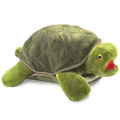 Folkmanis Turtle Plush Hand Puppet: Toys & Games [5Bkhe0202631]