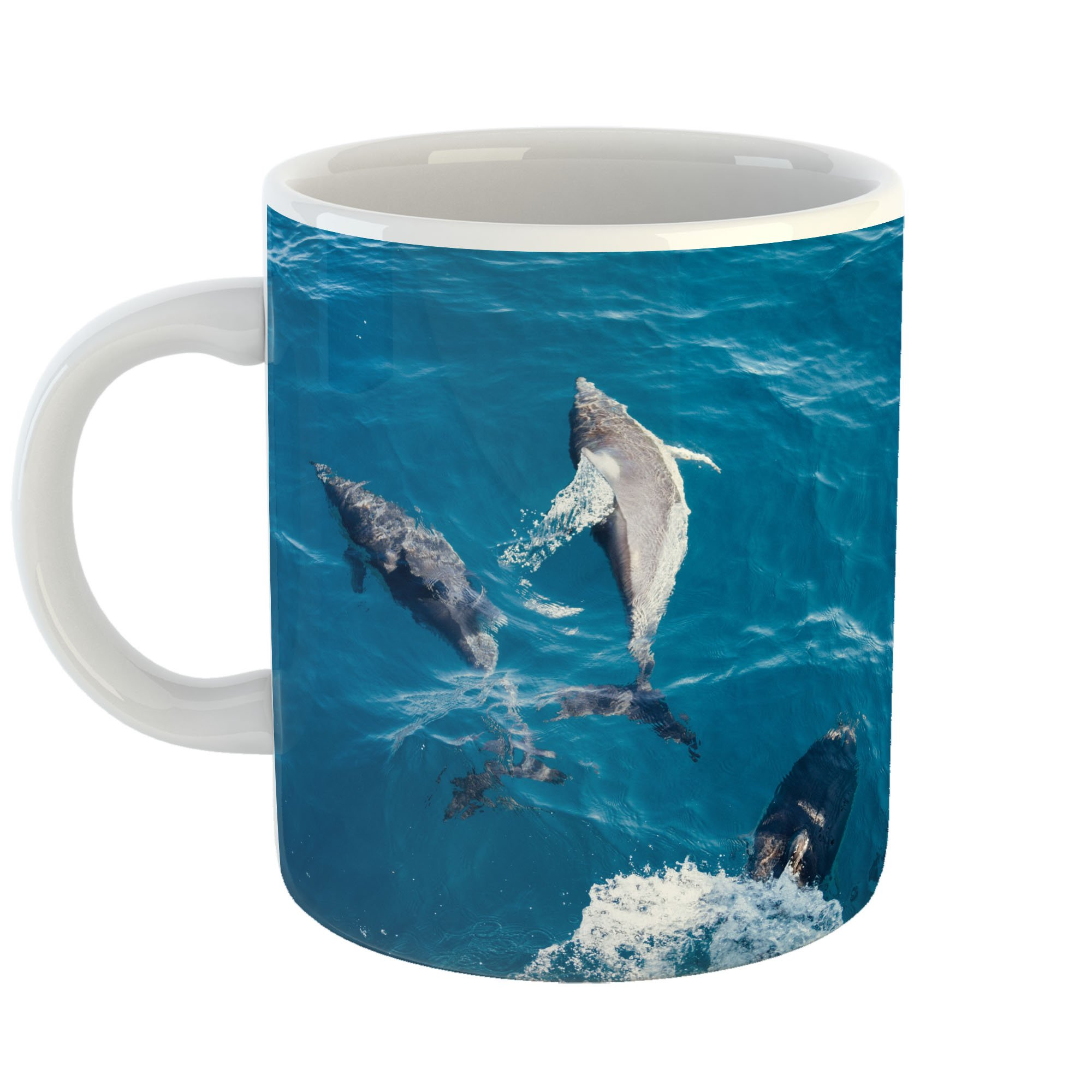 Westlake Art - Hotel Dolphin - 11oz Coffee Cup Mug - Modern Picture Photography Artwork Home Office Birthday Gift - 11 Ounce (3768-CE6F2)