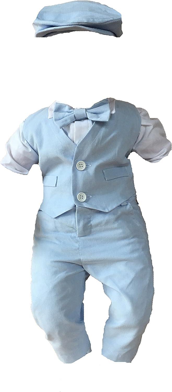Soffi Kids Sommer Taufanzug Festanzug Cord Hochzeit Anzug ver Farben