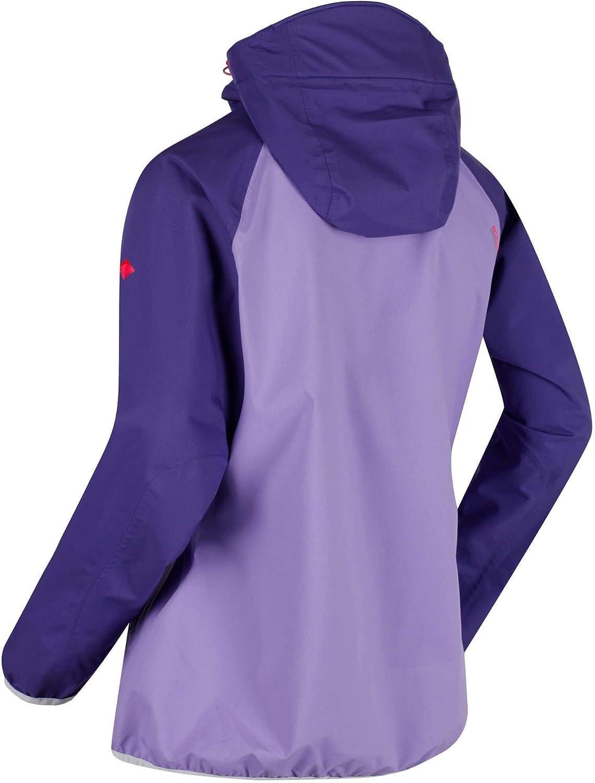 Regatta Chaqueta de Mujer Imber II con Capucha Impermeable Y Transpirable para Senderismo de Rendimiento Activo Jackets Waterproof Shell