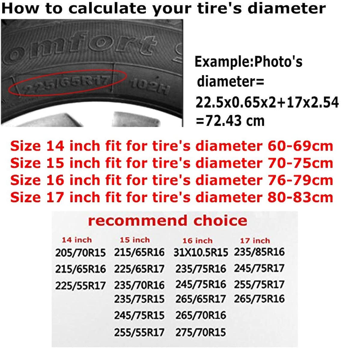 WATER PIPEE The Nightmare Before Christmas Oogie-Waterproof Tire Covers Fits 23.6 to 32.6 Tire Diameters,for SUV and Many Other Vehicle