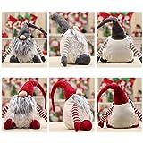 Sunshay Main Cadeau D'anniversaire De Noël Décoration Père noël En Peluche De Noël Gnome En Peluche-Cadeau De Noël 2 Couleurs