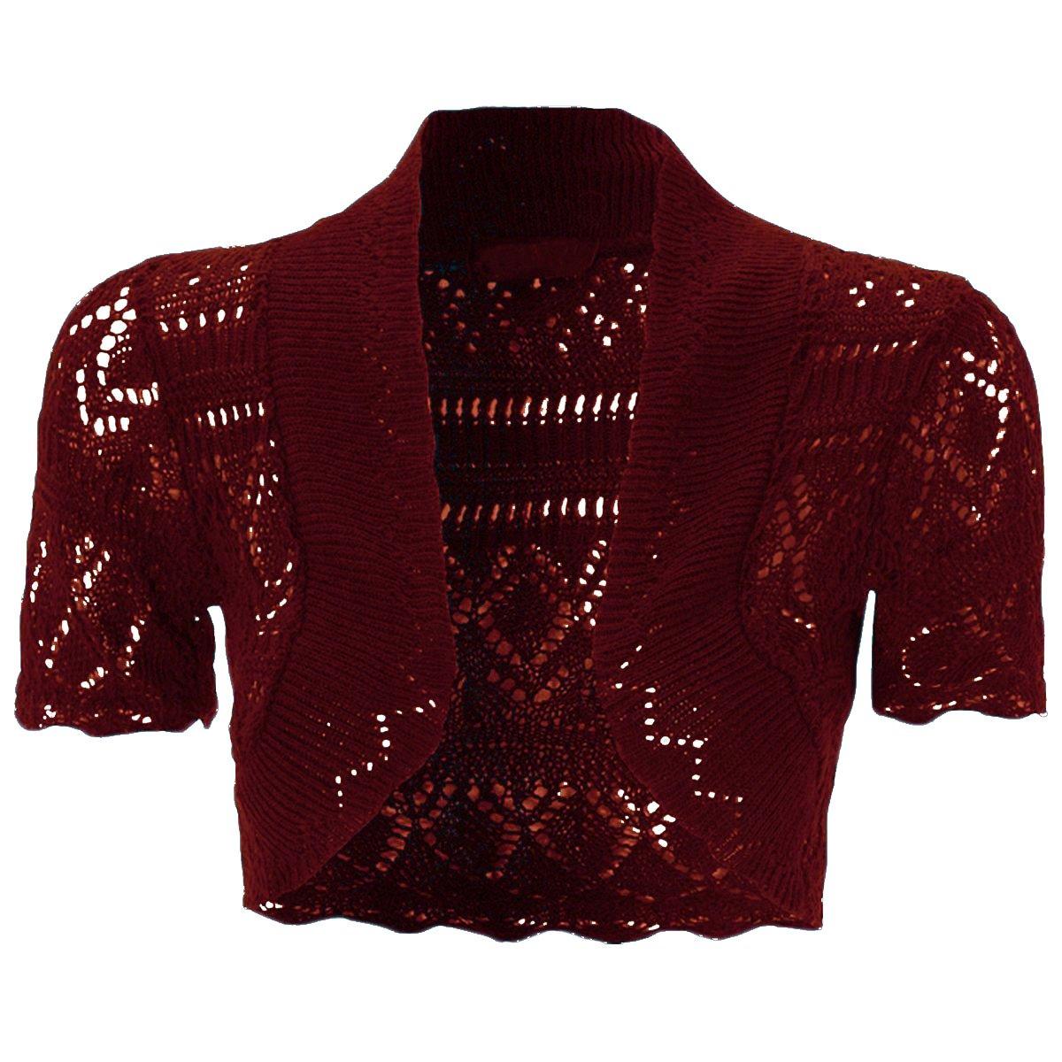 NEW KIDS GIRLS Bolero Knitted Cardigan Shrugs Top AGE: 2 3 4 5 6 7 8 9 10 11 12 13 Years