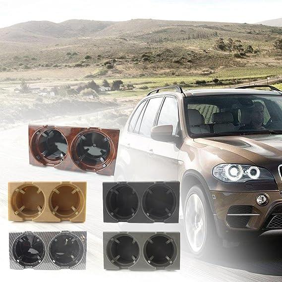 ... de Bebidas Móvil Caja Portavasos Portátil Multifuncional Coche Sostenedor de Taza Portavaso Frontal de Coche Almacenaje de Mercancía para BMW E46