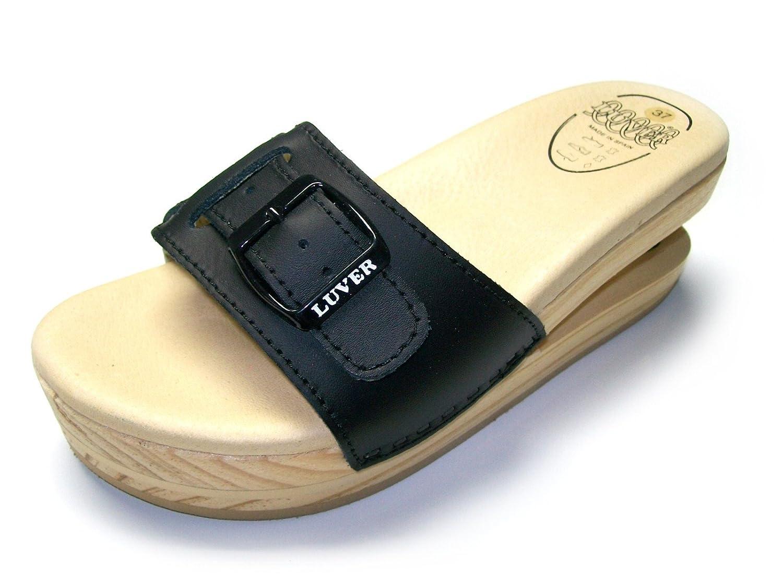 LUVER Sandali con Molla 2103//A Colore e Taglie Disponibili