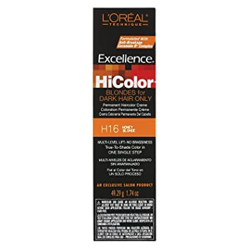910a352b55 Loreal Excel Hicolor H16 Tube Honey Blonde 1.74oz: Amazon.co.uk: Beauty
