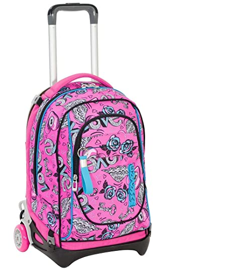 nuovo prodotto 96bb2 665ad Zaino trolley Seven New Jack bambina 201001907 - KEYS - Rosa ...