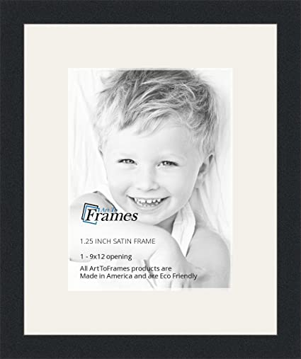 Amazoncom Arttoframes 9 X 12 Inch Opening Single Mat With A Satin