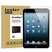 iPad Mini / iPad Mini 2/ iPad Mini 3 Pellicola Protettiva, iVoler Pellicola Protettiva in Vetro Temperato per Apple iPad Mini / iPad Mini 2/ iPad Mini 3 7.9''- Vetro con Durezza 9H, Spessore di 0,3 mm,Bordi Arrotondati da 2,5D-Shockproof, Trasparenza ad alta definizione, Facile da installare- Garanzia a vita