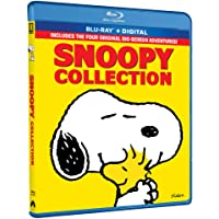 The Snoopy 4-Movie Collection [Blu-ray + Digital]