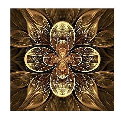 DIY Diamond Painting By Number Kits, Geometric patterns bird animal pattern Rhinestone diamond canvas Cross Stitch Kit diamond Embroidery Arts Craft livingroom bedroom home decor wall decor (A)