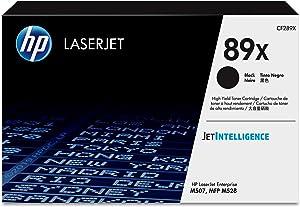 HP 89X | CF289X | Toner Cartridge | Black | High Yield