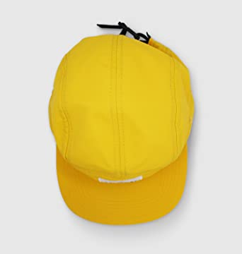 Amazon.com  Downtime Men s and Women s 5 Panel Camp Style Yellow Hat   Clothing 375d02904b1