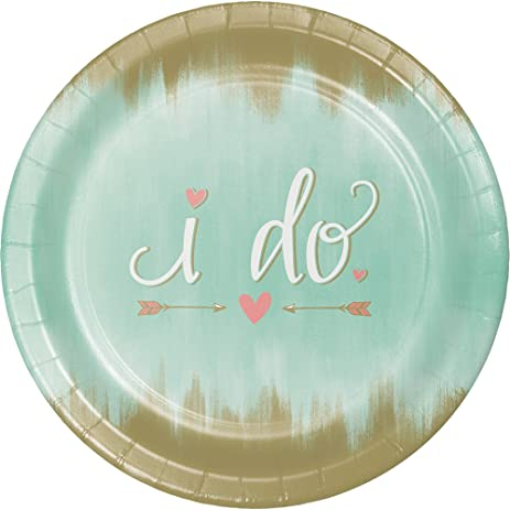 8-Count Sturdy Style Banquet Paper Plates Mint To Be  sc 1 st  Amazon.com & Amazon.com: 8-Count Sturdy Style Banquet Paper Plates Mint To Be ...