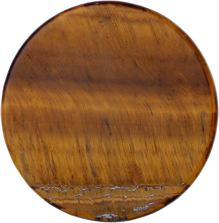 Morella Mujeres Coin Moneda Colgante Amuleto 33 mm Piedra Preciosa Gema Plato Gema Chakra