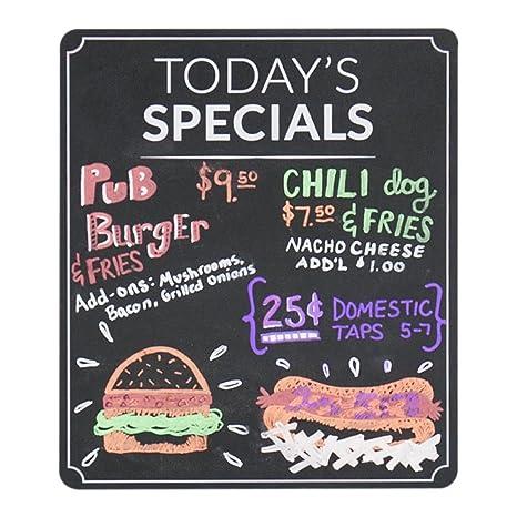 Amazon Com Today S Specials Restaurant Menu Chalkboard