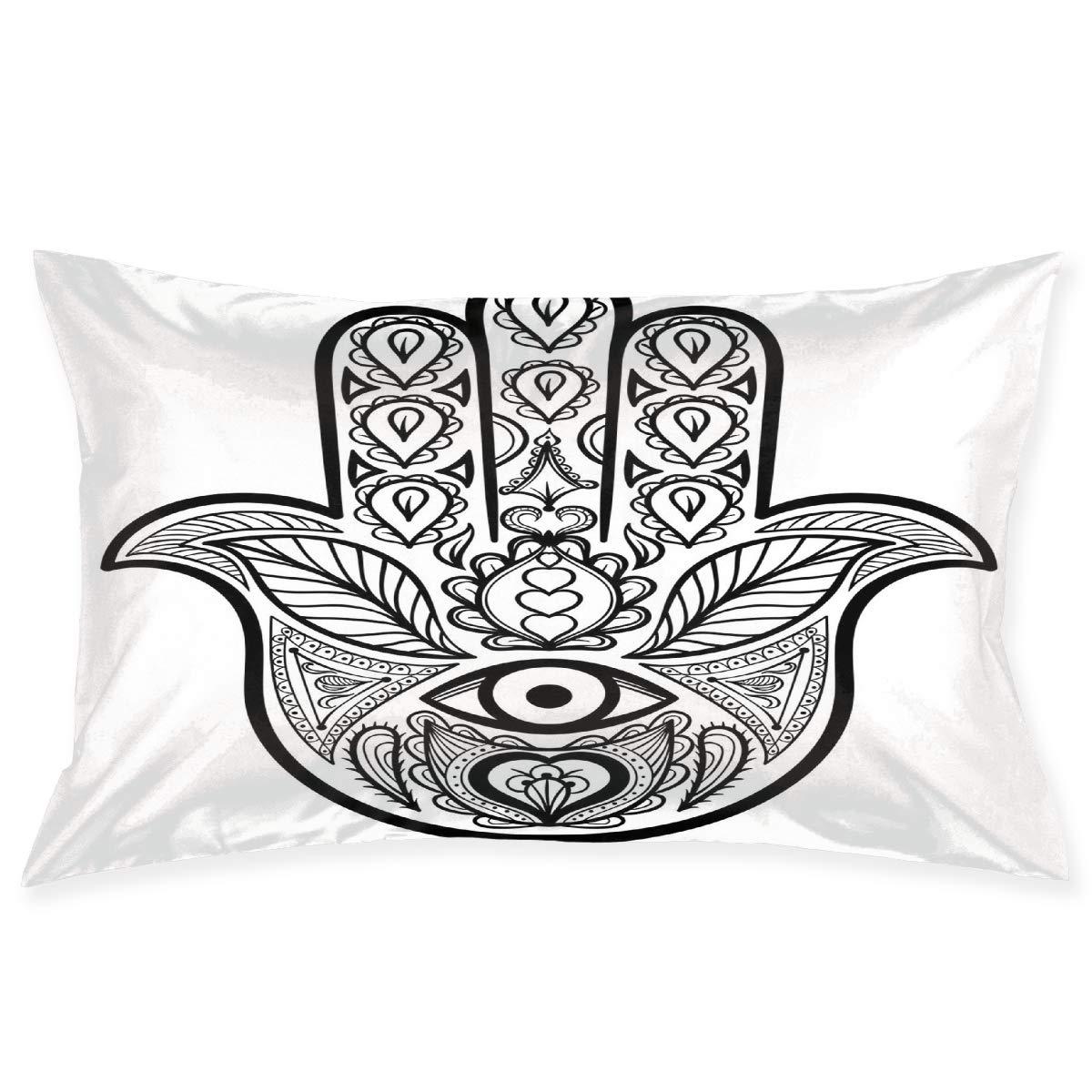 Amazon.com: YABABY Funda de almohada, patrón azteca étnico ...