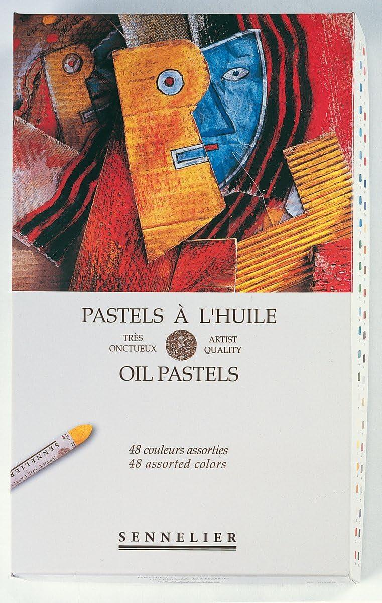 Sennelier Oil Pastel Assorted Set Of 48
