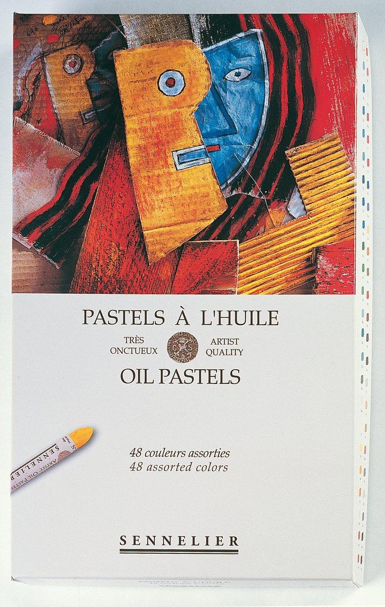Sennelier Artists Oil Pastels - Set of 48 x Assorted Pastels Global Art Supplies 132520-480 reikos_0019522742AM_0005313