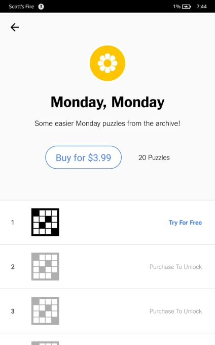 Amazon Com Nytimes Crossword Appstore For Android