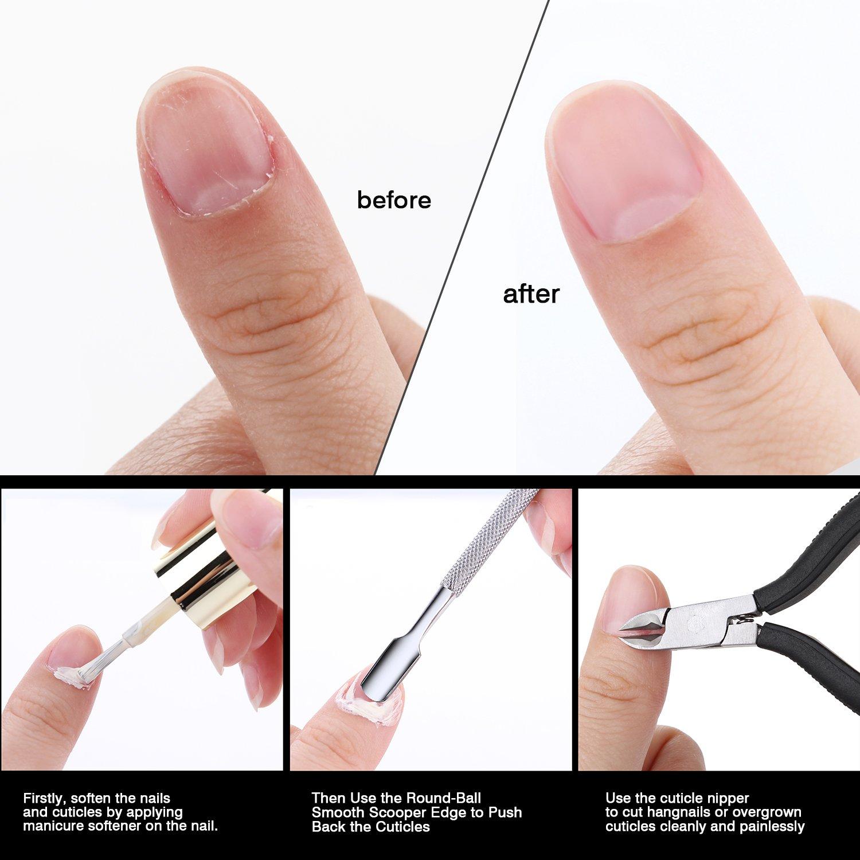 Amazon.com: Makartt Cuticle Remover Nipper Cutter Full Jaw ...